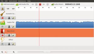 Jokosher logiciel de montage audio
