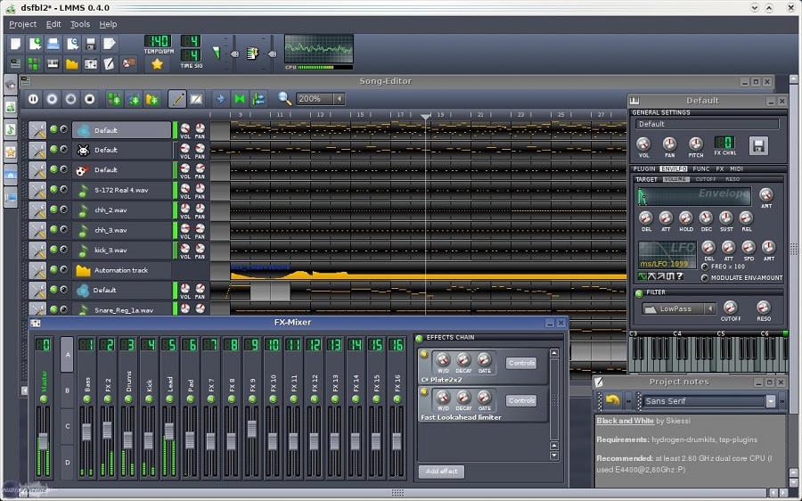 Top 11 des meilleurs logiciels de montage audio Linux-Multim%C3%A9dia-Studio