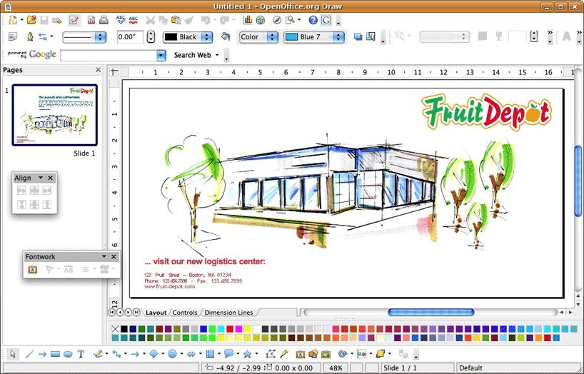 Top 8 des meilleures alternatives pour Adobe illustrator OpenOffice-Draw-illustrator-alternative