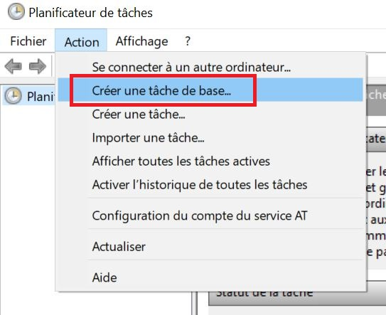 Planifier arrêt automatique de votre PC sous Windows 10
