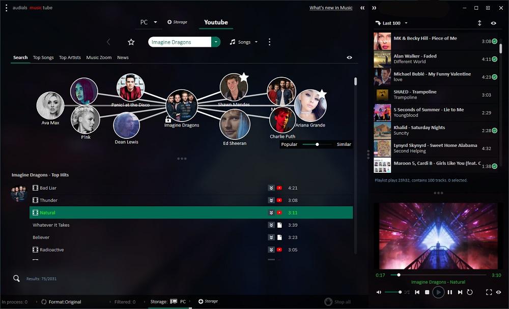 De la musique rapidement avec Audials one 2019