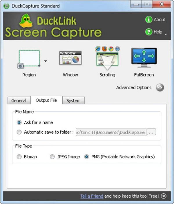 DuckCapture outil pour capture