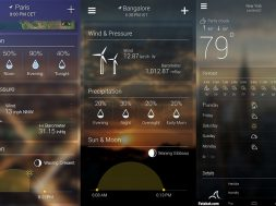 Les meilleures applications météo gratuites pour Android