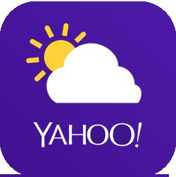 Yahoo Météo application météo Android