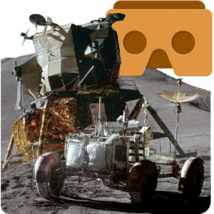 Apollo 15 Moon Landing VR application casque de réalité virtuelle