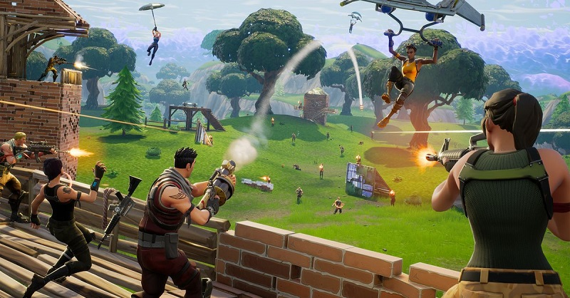 Fortnite battle royal gratuit