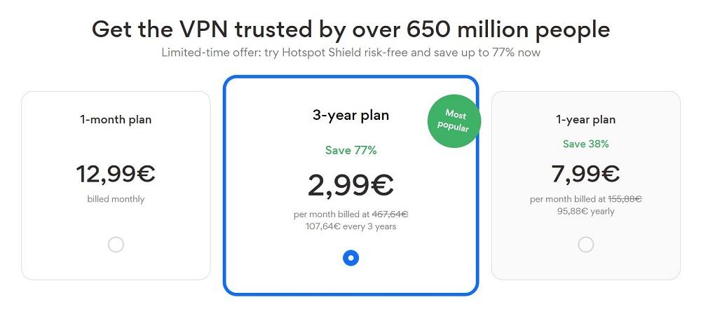 Hotspot Shield avis et prix