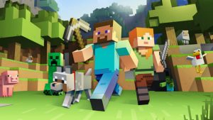 Minecraft jeu battle royale