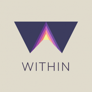 Within application casque VR