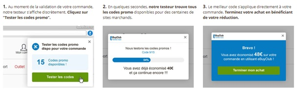 testeur automatique de code promos sur eBuyClub