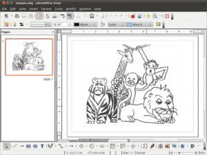 LibreOffice création de bandes dessinées