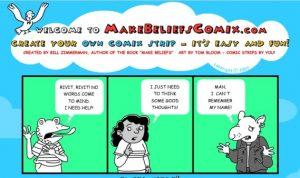 Make Beliefs Comix Faire une bande dessinée
