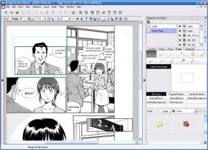 Manga Studio Debut création de bandes dessinées
