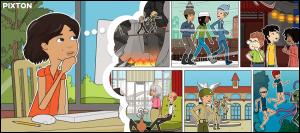 Pixton bandes dessinées en ligne