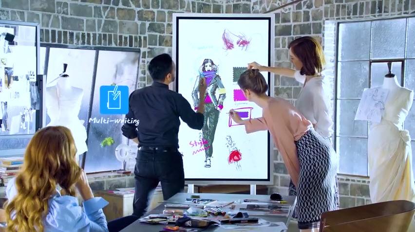 Samsung Flip écran interactif pour les entreprises