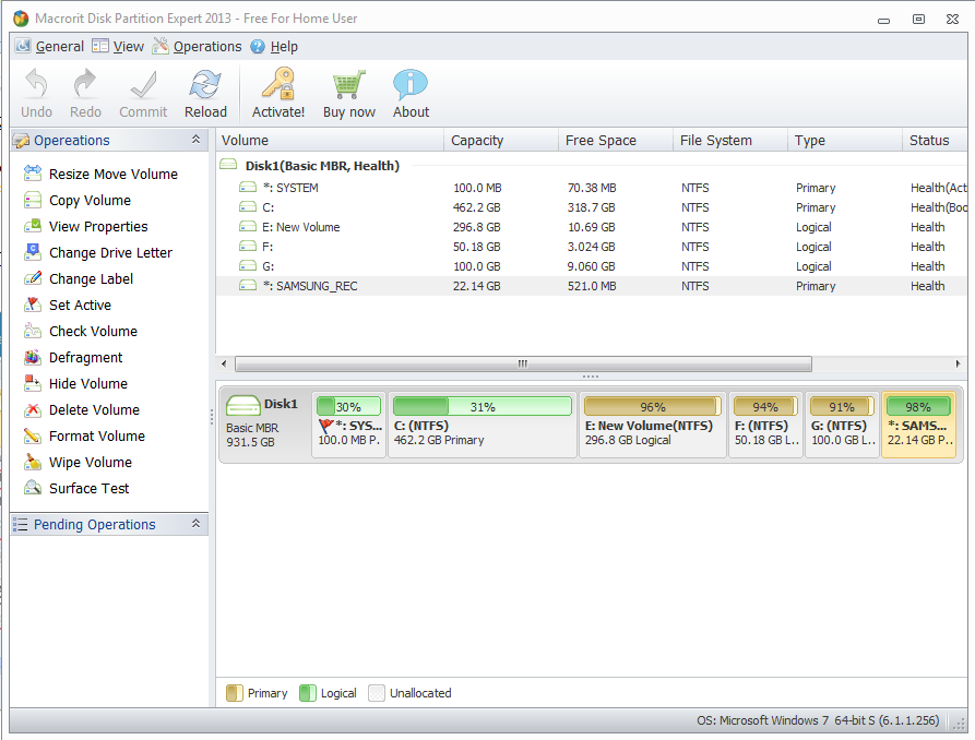 Macrorit Disk Partition Expert logiciel de partition gratuit