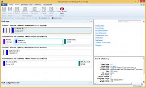 Paragon Partition Manager logiciel partition gratuit