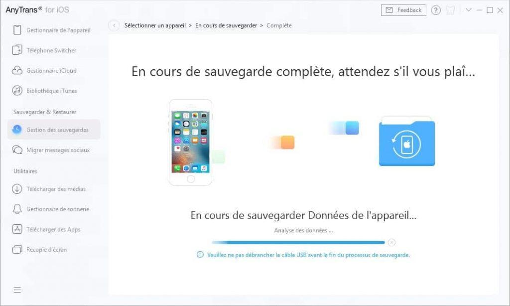 Quelles sont les nouvelles fonctionnalités d'AnyTrans pour iOS8