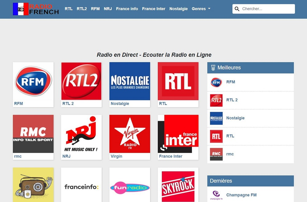 Radio French radio en ligne et en direct gratuit