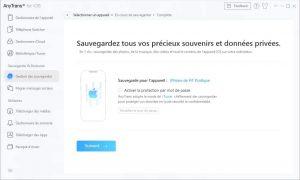 Sauvegarder les données iPhone avant la mise à jour iOS