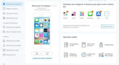 Sauvegarder les données iPhone avec Anytrans pour iOS