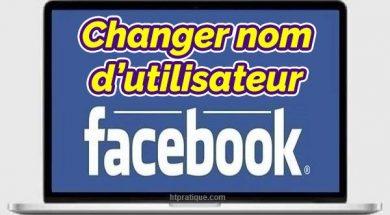 Comment changer son nom sur Facebook