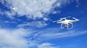 Les courses de drone