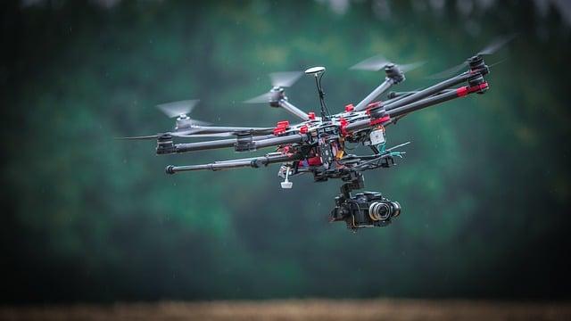 Les drones au service du cinema
