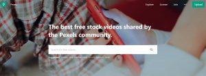 Pexels vidéos libres de droits