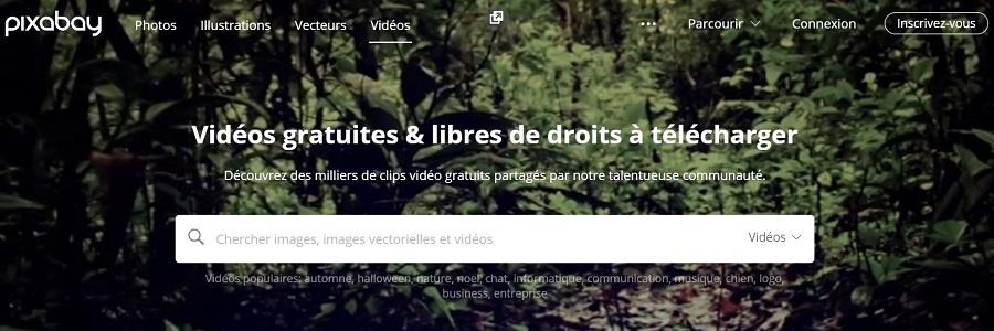 Pixabay vidéo gratuit