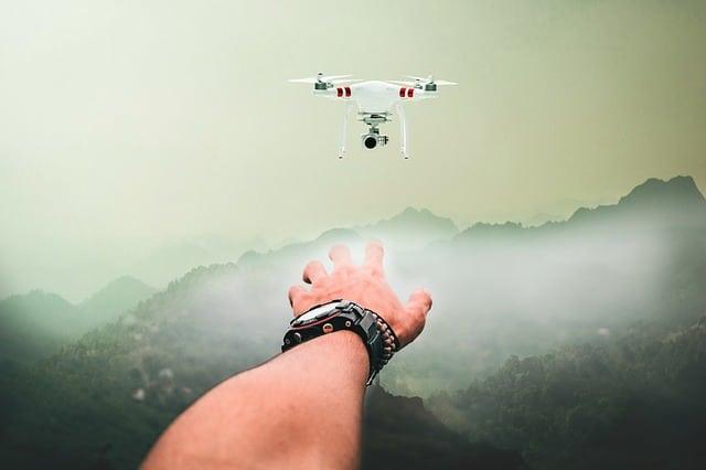 utilisations inhabituelles de drones