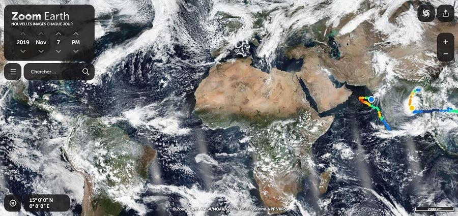 Terre Eclair alternative Google Earth