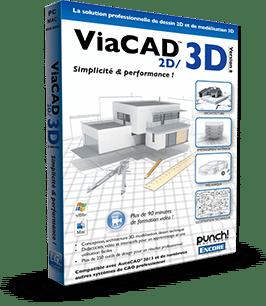 Viacad2D3D concevoir des plans
