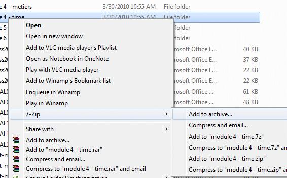 logiciels gratuits pour compresser ou décompresser un fichier