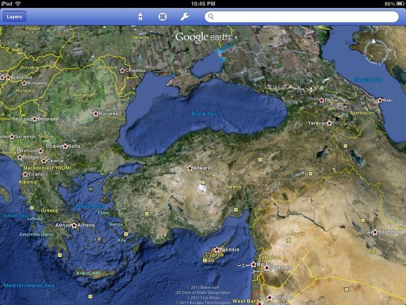 meilleures alternatives à Google Earth