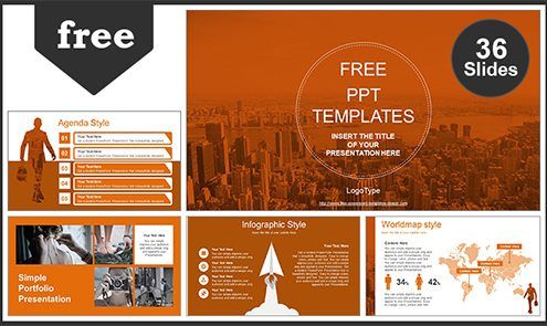 Free PPT Templates Design thèmes PowerPoint