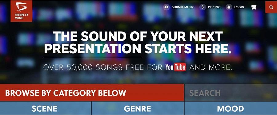 Freeplay Music musique libre de droit gratuite pour montage vidéo
