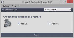 Hekasoft backup & restore sauvegarder et de restaurer les données navigateurs