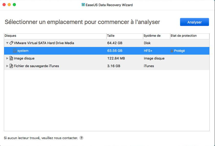 Installez le logiciel EaseUs Data Recovery Wizard