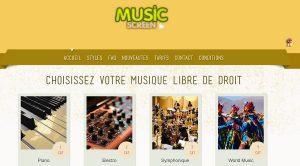 Musicscreen Musique libre de droit