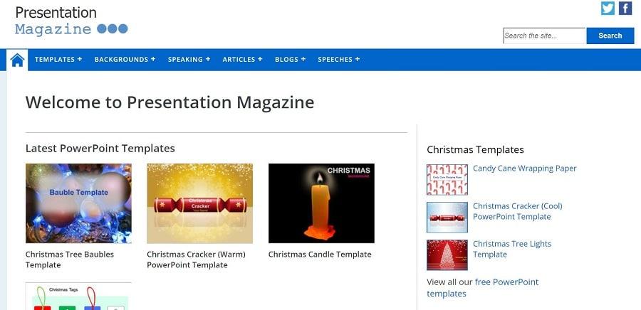 Presentation Magazine multitude de modèles PowerPoint gratuits