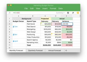 Quip alternative Excel
