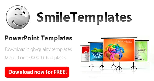 Smile Templates thème powerpoint gratuit