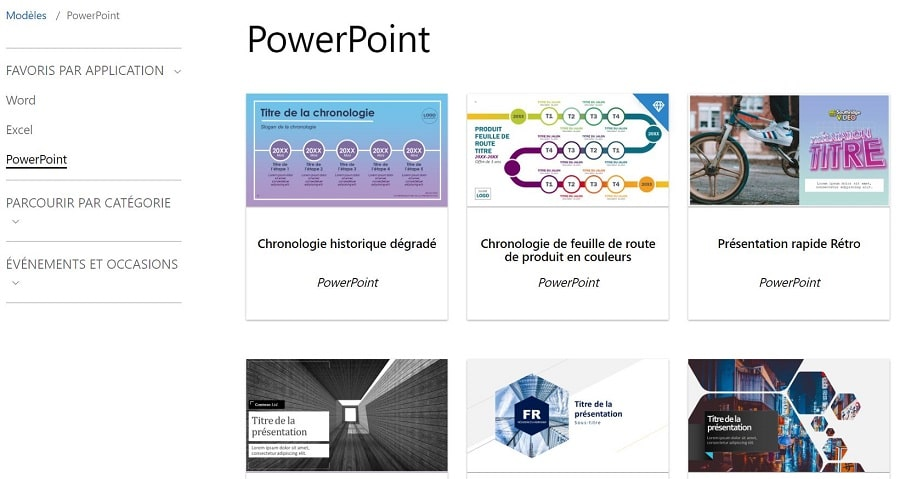 template powerpoint microsoft