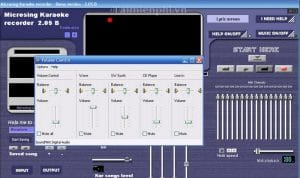 Microsing karaoke Player logiciel Karaoke