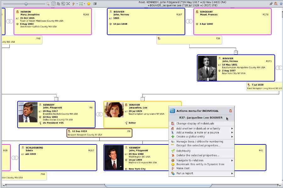 Ancestris logiciels de généalogie