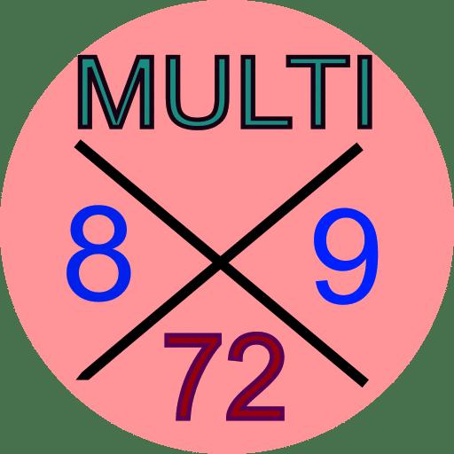 MultiX est une application tables de multiplication