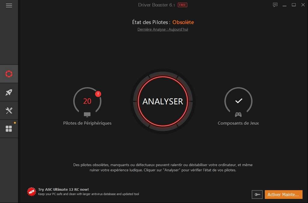 IObit Driver Booster meilleur logiciel de mise à jour des pilotes gratuit
