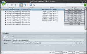 JDownloader gestionnaire de téléchargement firefox