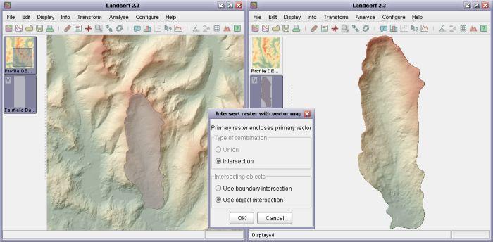 Landserf logiciels SIG